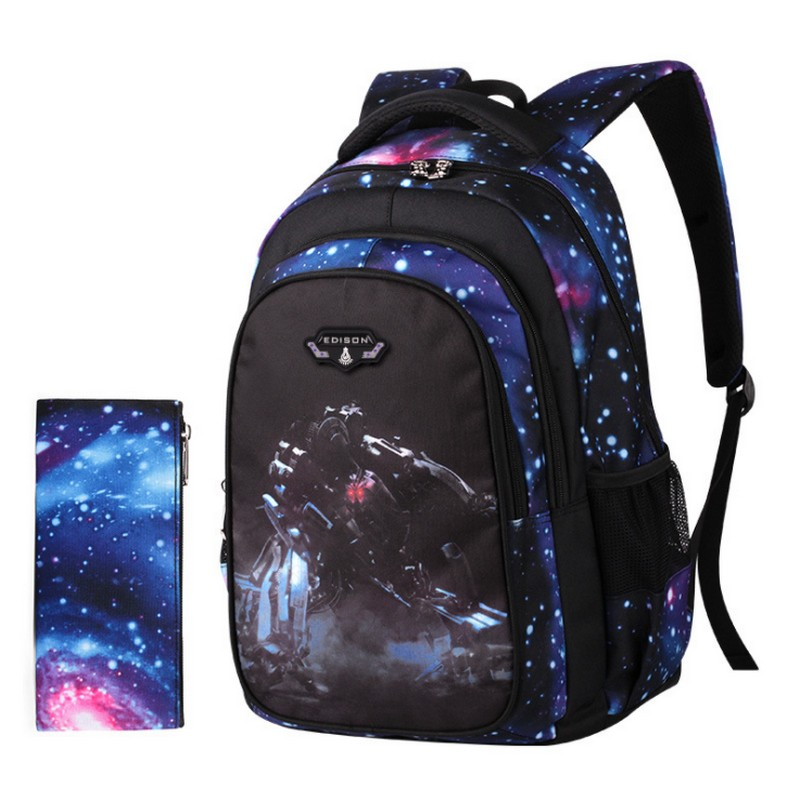 Chinese brand waterproof children school bags boys girls orthopedic backpack kids schoolbag bookbag mochila escolar недорого