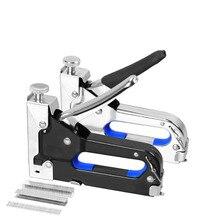Manual Nail Staple Gun Furniture Stapler Rivet Gun Kit Nailers Rivet Tool Nietzange For Wood Door Upholstery Framing