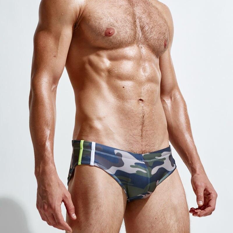 Superbody Blagovna znamka Camouflage igra vodne kovčke Sexy play - Moška oblačila - Fotografija 6