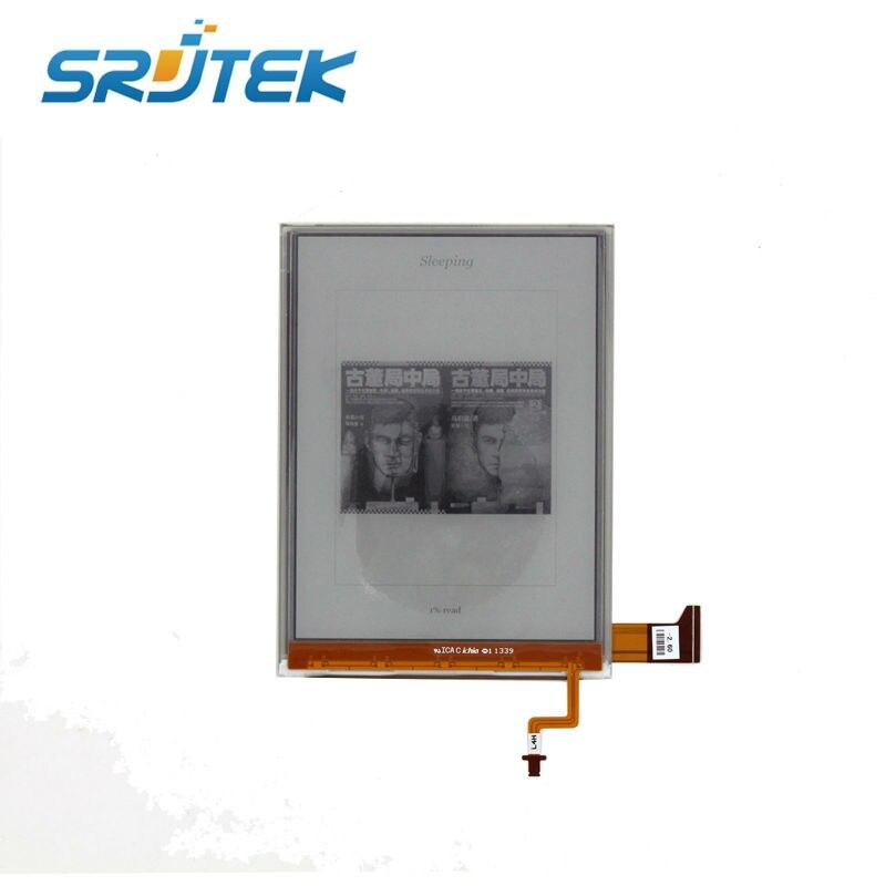 NEW Tested E-Ink For ED060XG1(LF)T1-11 ED060XG1T1-11 768*1024 HD XGA Pearl Screen For Kobo Glo Reader Ebook eReader LCD Display evf8217 e lenze inverter evf8217 e almost new used 100% tested