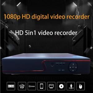 Image 2 - Jvtsmart AHD DVR 4 Kanal 8 Kanal Video Kaydedici 5in1 CCTV AHD CVI TVI Analog IP Hibrid Güvenlik DVR 1080 P 1080n NVR 4CH 8CH xm
