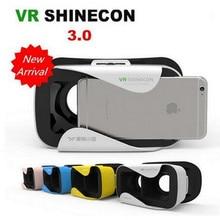 Shinecon VR Виртуальная Реальность 3D Очки VR 3.0 Очки Шлем Смарт Объектив для Android IOS смартфон Samsung iPhone Huawei и т. д.