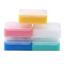 5 unidades/pacote crianças escova sensorial banho de bebê esponja escova cirúrgica mãos dentadura escova de limpeza estéril esponja esfrega cerda escova