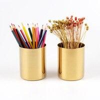 Dokibook Brass kim loại Vòng chủ bút Vàng cán viết ins phong cách phụ kiện bàn văn phòng bút escritorio 2018 trường văn phòng phẩm