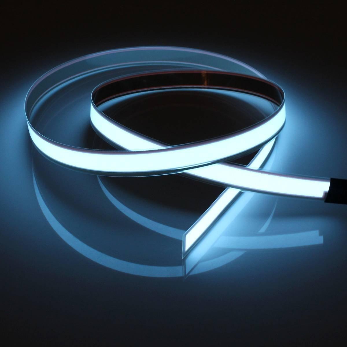 1 Mt Neon Draht El kabel LED Schlauch mit Batterie Box Licht ...