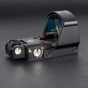 Beste LP DP Pro Airsoft 1911 1913 Mount Sight Reflex Red Dot Sight Tactical Aim Scopes Voor de Jacht Scope Accessoires(China)