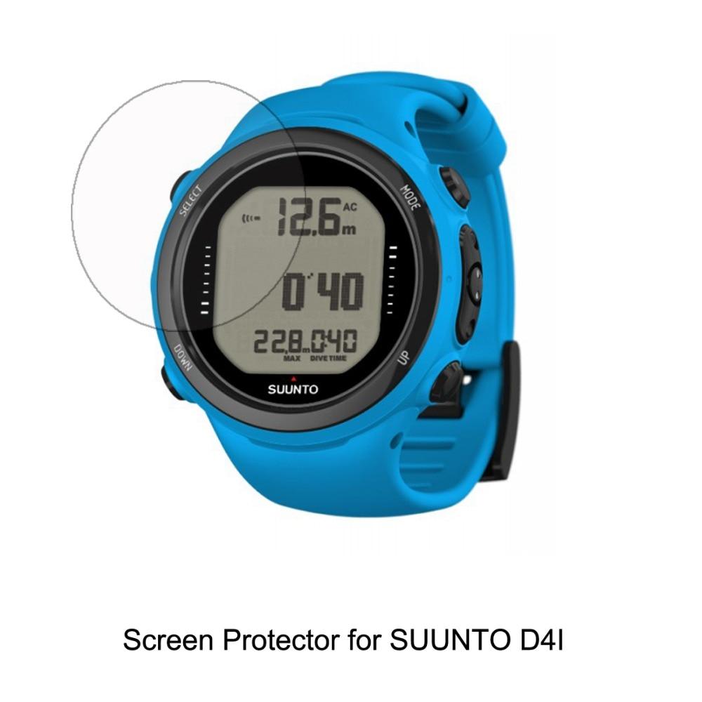 2* Clear LCD TPU Film Anti-Scratch Water Repel Shield Film Screen Protector Cover For Suunto D4I Accessories