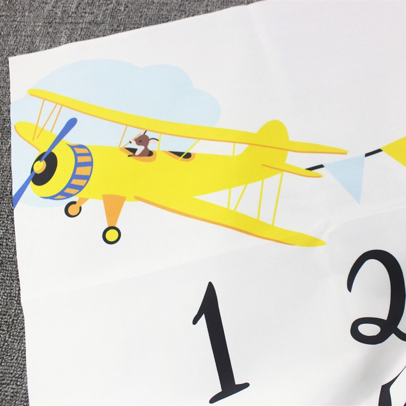 HTB1fVaZXG67gK0jSZFHq6y9jVXaV Cartoon Infant Portray Blanket Milestone Photo Props Background Blankets Baby Play Mats Backdrop Calendar Photo Accessories