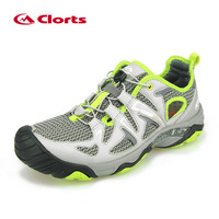 Clorts Men Water Shoes PU Leather Light Quick Drying Outdoor Summer Aqua Shoes Breathable Wading Sandals