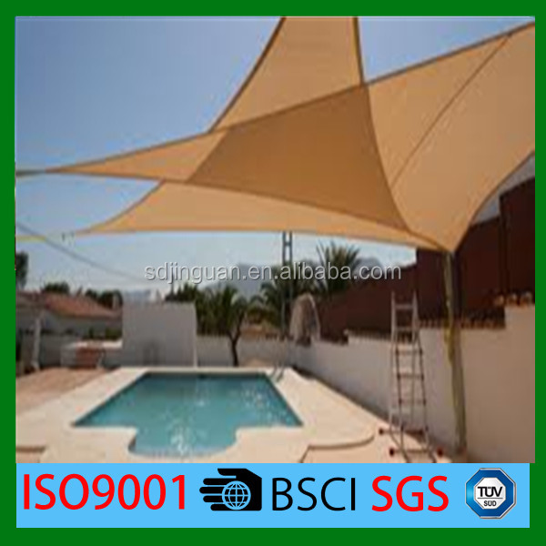 1 x 1 M Customized 90% shade rate Sun Shade Sail combination hdpe fabric for garden or home
