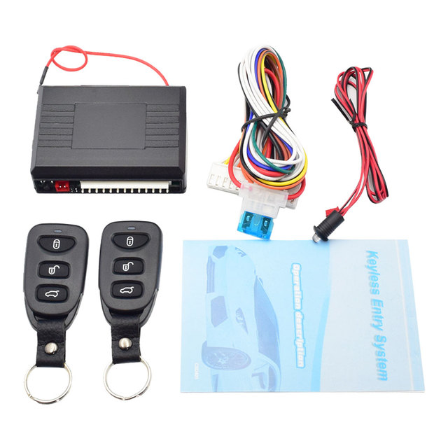Car Remote Unlocker >> Us 7 28 5 Off Car Remote Central Lock Kit Universal Auto Vehicle Electronic Door Locking Unlock Window Up Trunk Release Keyless Entry System In
