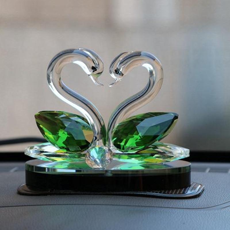 Hattyú, kreatív lakberendezési kristály kézműves, esküvői - Lakberendezés
