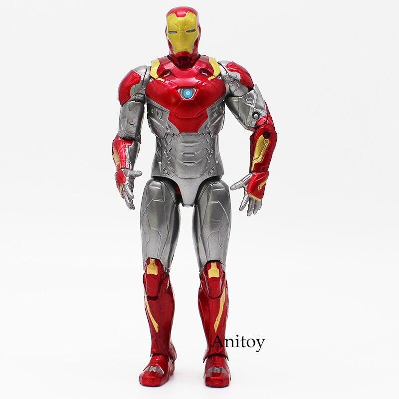 Iron Man Mark XLVII MK47 PVC Action Figure Collectible