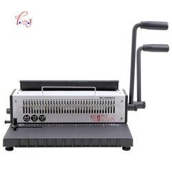Instrukcja maszyna do bindowania 34 otwory metalowy drut spiralny szpula bindownica A4 spoiwa Puncher maszyna 1pc w Bindownice od Komputer i biuro na