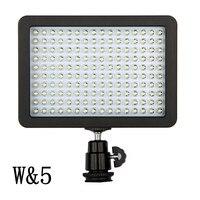 Gorący WanSen W160 LED lampa Wideo Kamery Światła Dla CANON Nikon samo z fotografowania ślubu CN-160 małe studio wideo-fotografowania