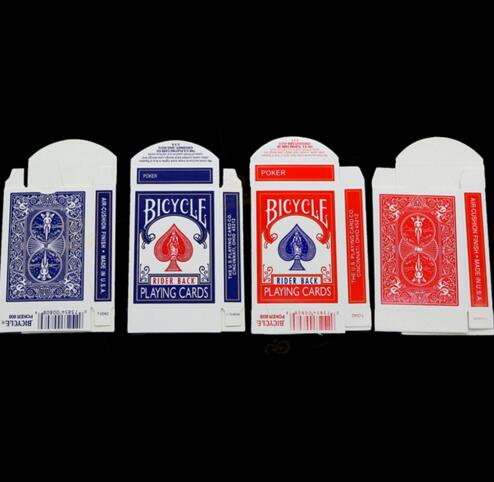 20 Pcs/lot Bicycle Card Box ( Red & Blue Available) -magic Tricks,how To Magic,magic Show Kit,magic Props For Stage Products Are Sold Without Limitations