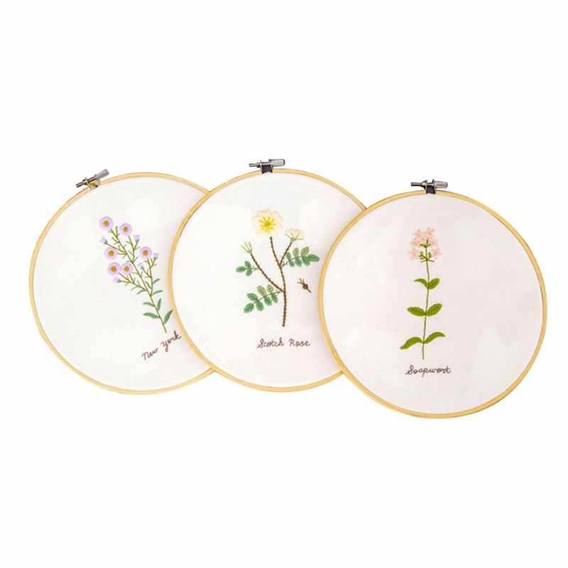 Oneroom Houten Cross Stitch Machine Embroidery Hoop Ring Bamboo Naaien 13-34CM Naaien Accessoire s