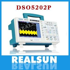 Image 1 - Oscilloscope numérique Hantek DSO5202P Oscilloscope Portable 200MHz bande passante 2 canaux de poche LCD USB Oscilloscopes Multimetro
