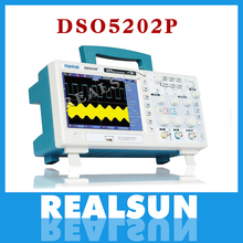 Osciloscopio Hantek DSO5202P Digital Oscilloscope Portable 200MHz bandwidth 2 Channels Handheld LCD USB Oscilloscopes Multimetro