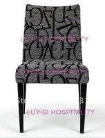 Hot Sale Aluminum Restaurant Chair LUYISI2059 Stackable High Density Foam 5pcs Carton Safe Package