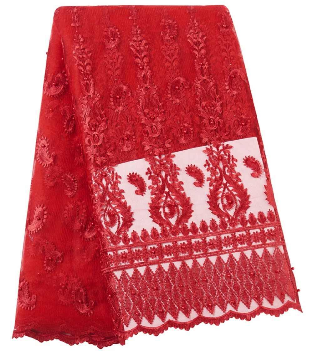 Лидер продаж зеленый африканский тюль гипюр кружевная ткань французский чистая кружевная ткань для свадебной вечеринки нигерийские кружева вуаль ткань