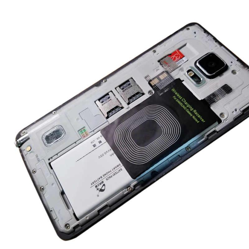 Récepteur de chargeur sans fil Qi pour Samsung Galaxy Note 4 S5 S4 Note4 avec bobine de qualité supérieure