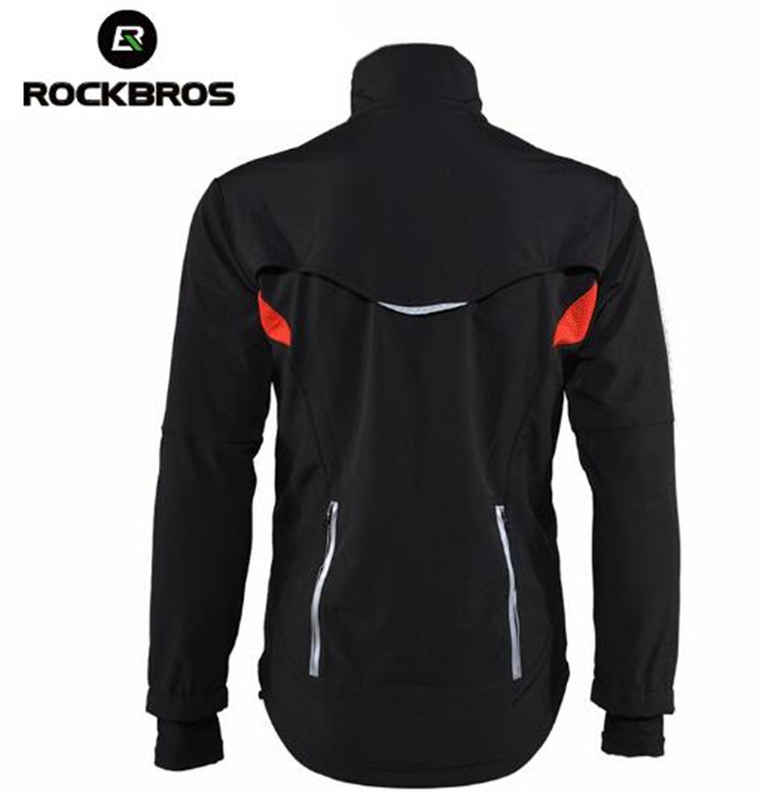 ROCKBROS veste de cyclisme VTT coupe-vent veste vélo vêtements hommes cyclisme Jersey veste manteaux Motocross Jersey