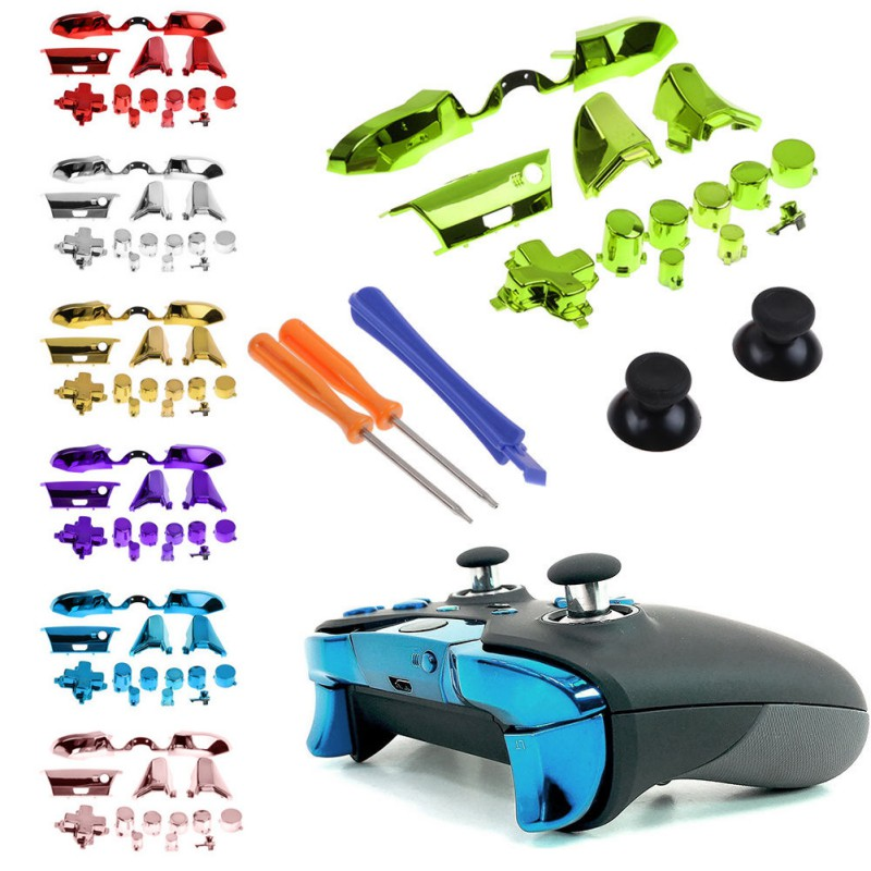 Accessories For Xbox One Elite X1 Controller Bumper Triggers Buttons Replacement Full Set for D-pad LB RB LT RT