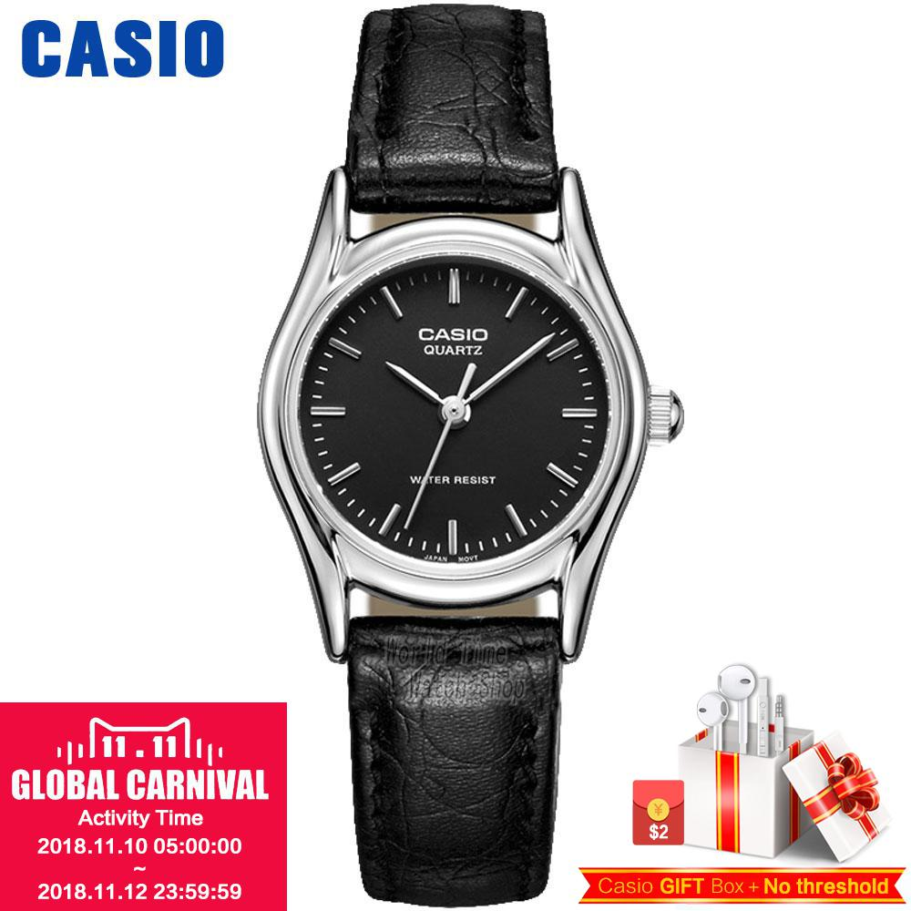 Casio watch Simple and comfortable fashion casual ladies watch LTP-1094E-1A LTP-1094E-7A LTP-1094E-7B LTP-1094Q-1A LTP-1094Q-7A casio ltp 1129g 7a