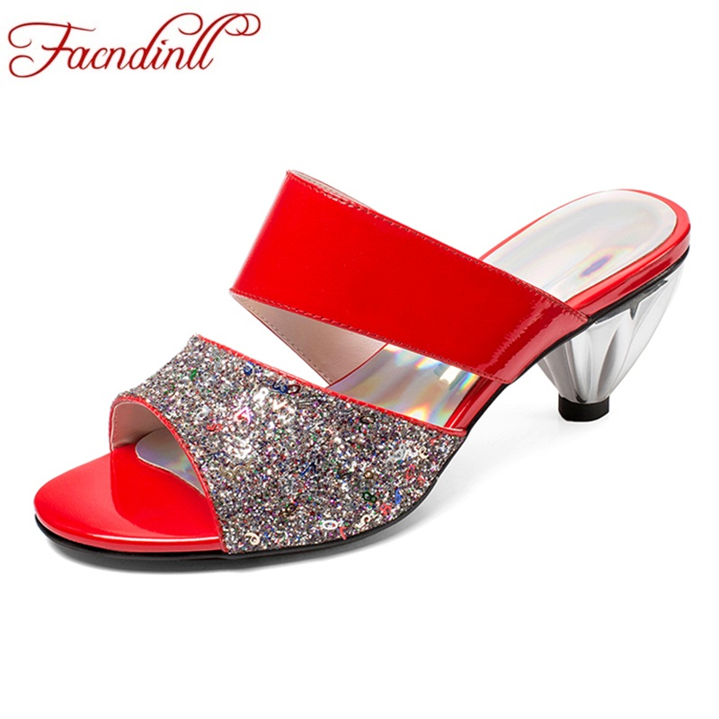 FACNDINLL high qulaity summer sandals shoes for women sexy high heels open toe woman dress party casual gladiator sandals shoes vankaring new sandals shoes women cruare strange style low heel open toe summer woman black dress party casual sandals slipper