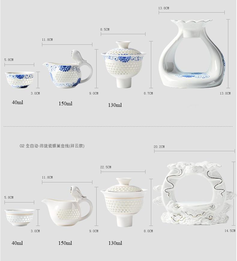Service à Thé Porcelaine de Chine dimention 1 | OkO-OkO™