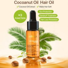 10ml Natural Coconut Oil Virgin Hair Care Essence Coconut ex