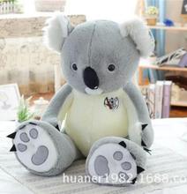 Big size Cute koala doll plush toys large pillow doll children birthday gift for girls