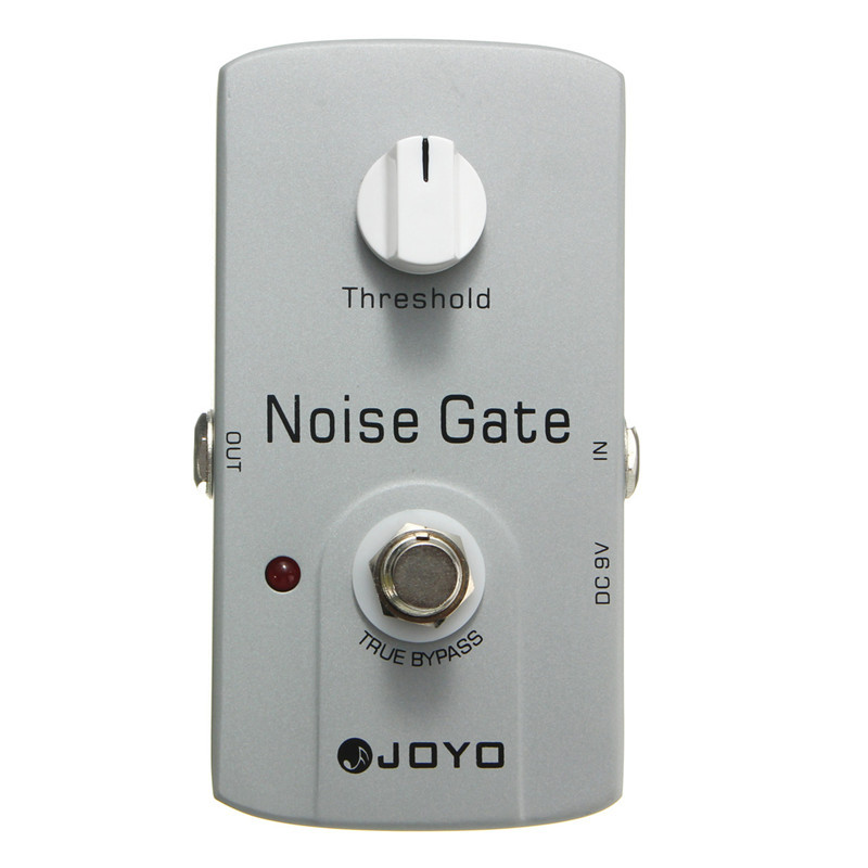 ФОТО JOYO JF-31 Noise Gate Effect Pedal True Bypass Design Electric Guitar Musical Stringed Guitar Accessories