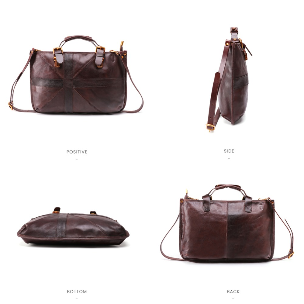 JOYIR New Genuine Leather Women Messenger Bag Casual Vintage Shoulder Bag Ladies Handbag Crossbody Bags For Women 2019 Women Bag