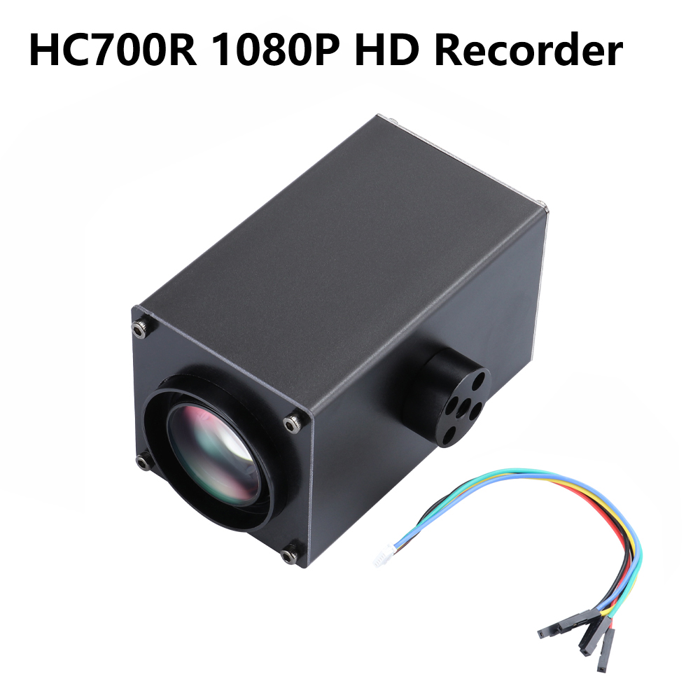 Happymodel HC700R 1080P HD Recorder 32x Zoom FPV Camera DVR Support 64G SD For FPV Drone