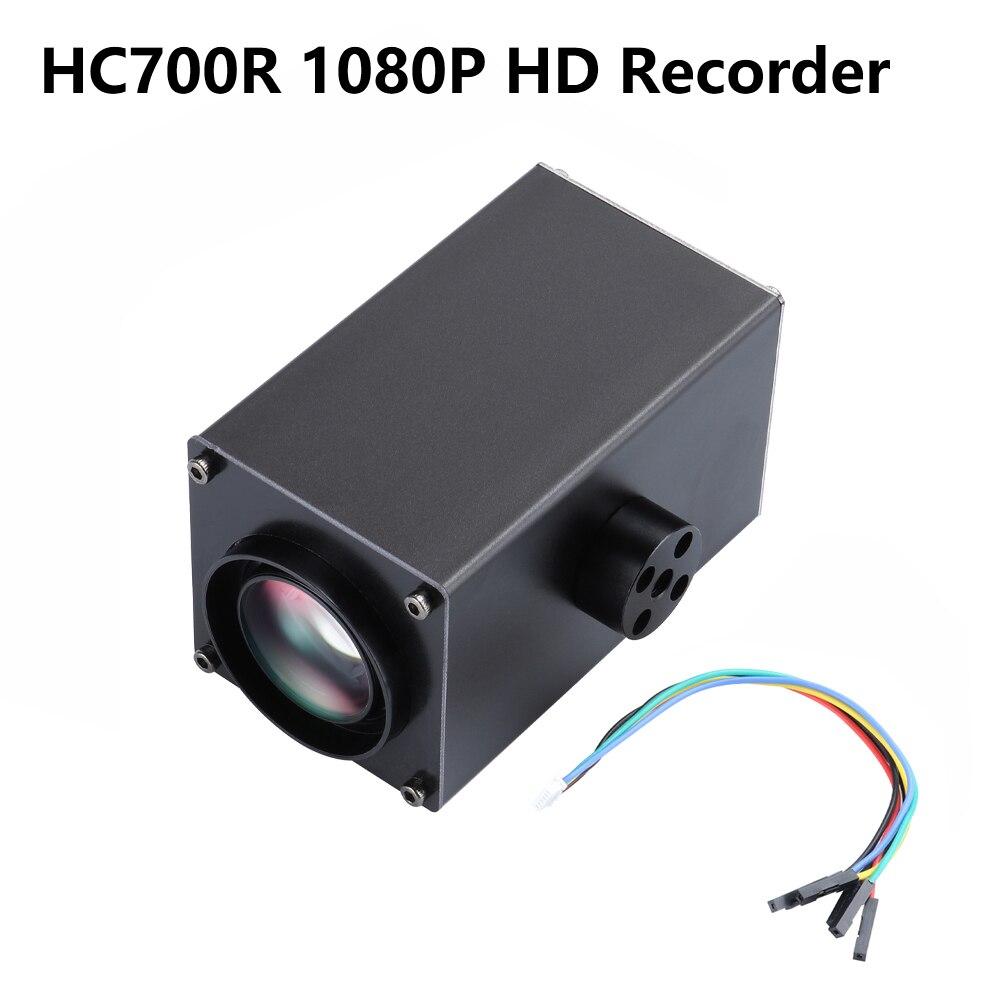 Oyuncaklar ve Hobi Ürünleri'ten Parçalar ve Aksesuarlar'de Happymodel HC700R 1080P HD Kaydedici 32x Zoom FPV Kamera DVR Desteği 64G SD FPV Drone Quadcopter Için'da  Grup 1