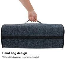 Сделать Акция! Багажник автомобиля загрузки чехол для хранения Box Организатор инструмент Нескользящие Складная прочная сумка