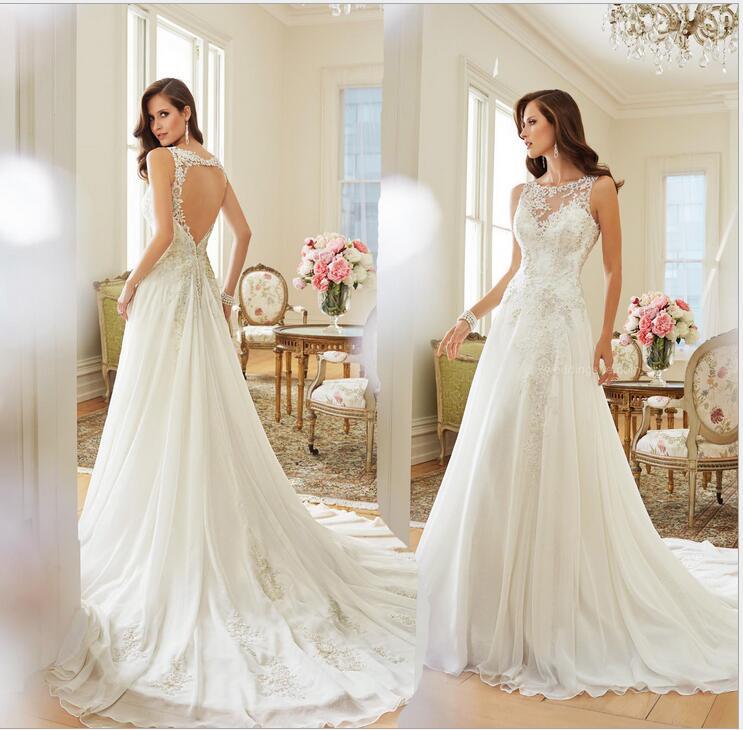Free Shipping 2017 American Wedding Dress New Trade Shoulders Waist