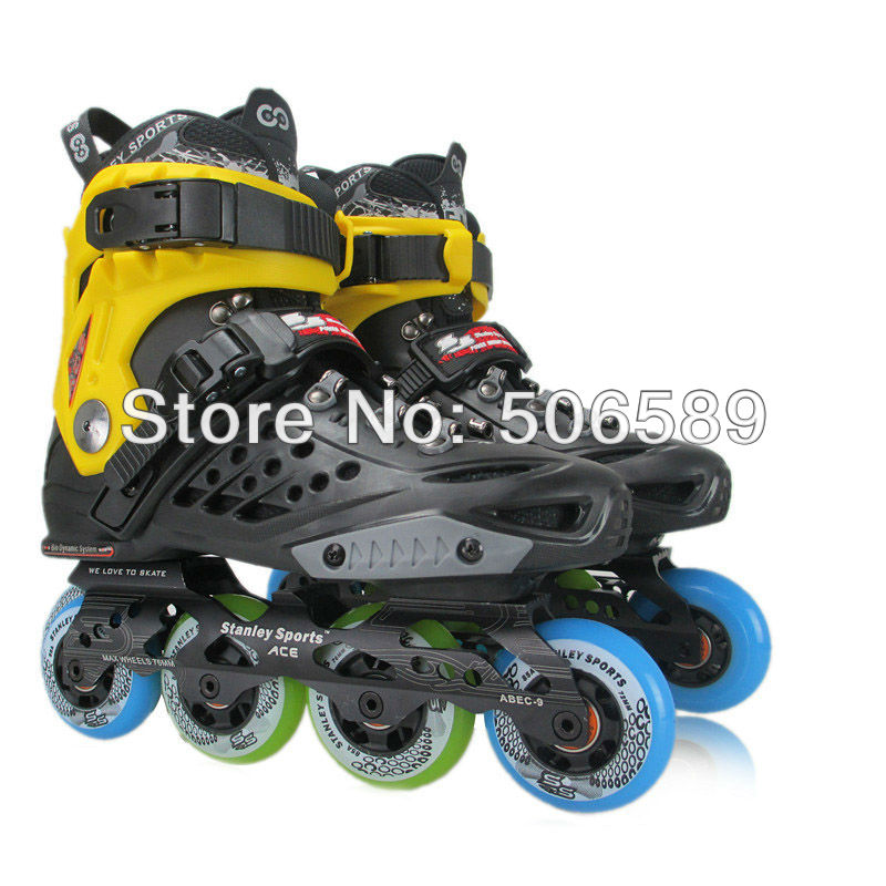 Free Shipping Roller Skates Adults ACE King ABEC-9 85A