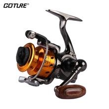Goture Mini Metal Fishing Reel Coil MN100 Youth Kids Portable Spinning Reel For Winter Ice Fishing Max Drag 4kg