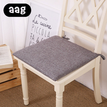 купить AAG Japanese Style Simple Linen Solid Color Cushion Mat Home Office Sofa Decor Chair Thickening Pad Seat Cushion Chair Cushion по цене 376.19 рублей