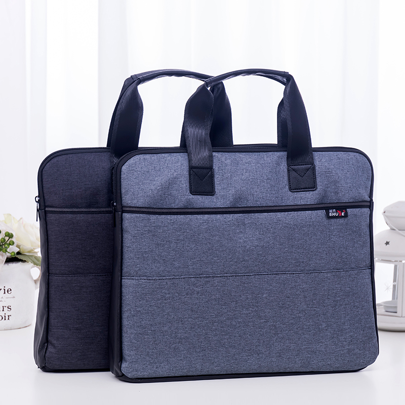 Portable Document Bag A4 Zipper Cotton Cloth File Hand-held Briefcase Business Office Briefcase Files Folder High Capacity TutePortable Document Bag A4 Zipper Cotton Cloth File Hand-held Briefcase Business Office Briefcase Files Folder High Capacity Tute