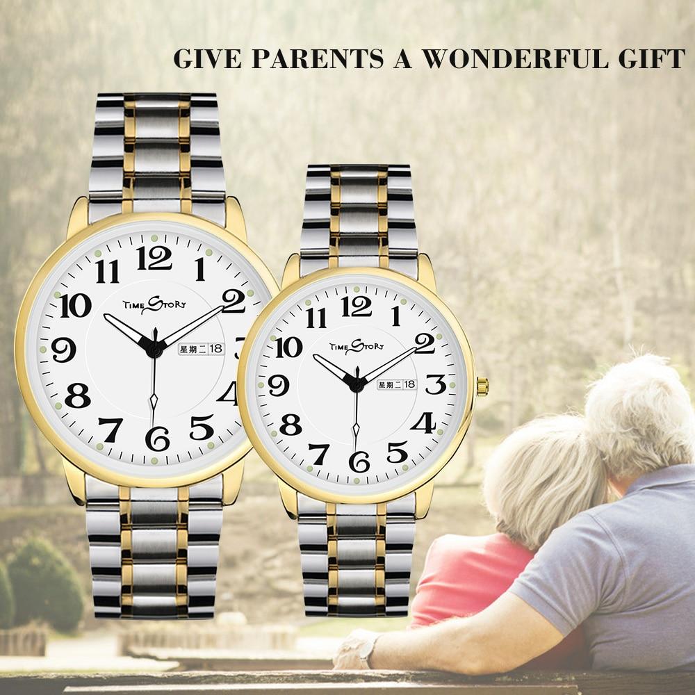 Mode Couple Montres Populaire Casual Quartz Femmes Hommes Montre Amant de Cadeau Horloge Garçons Filles Montre-Bracelet d'affaires