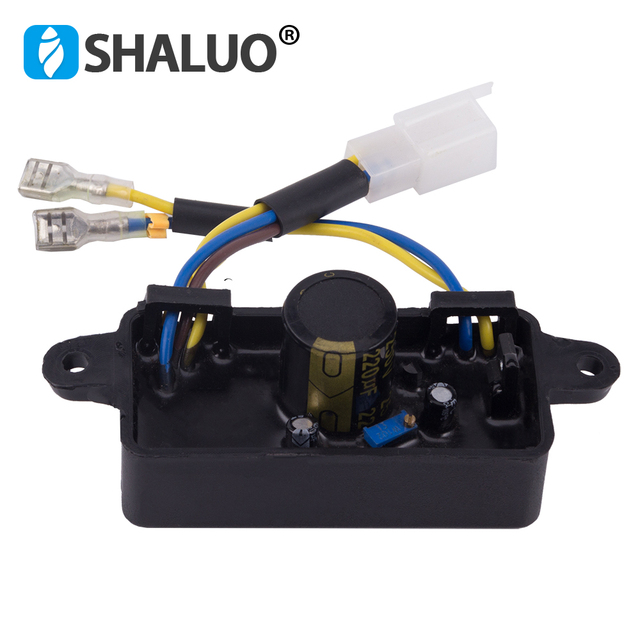 2kw 2.5kw 2.8kw 3kw GX160 168F Gasoline avr automatic voltage regulator Single Phase ac Small Generator Spare Parts 250v
