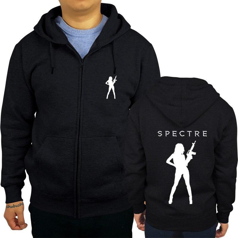 men hoody fashion autumn winter zipper James Bond Spectre 007 Movie  shubuzhi Jacket Coat Man Sportswear euro size