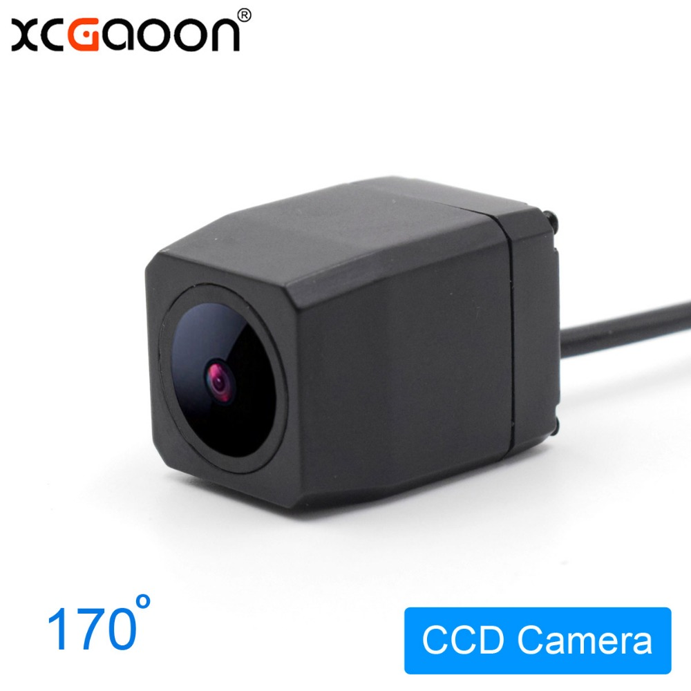 все цены на XCGaoon Metal CCD HD Car Rear View Camera Night Version Waterproof Wide Angle Backup Camera, Improved Lens for Night онлайн