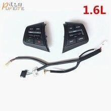 Кнопка Руль Для Hyundai ix25 1.6L Кнопки Bluetooth Телефон Круиз-Контроль Объем канальный Пульт Дистанционного Управления Рулевого Колеса