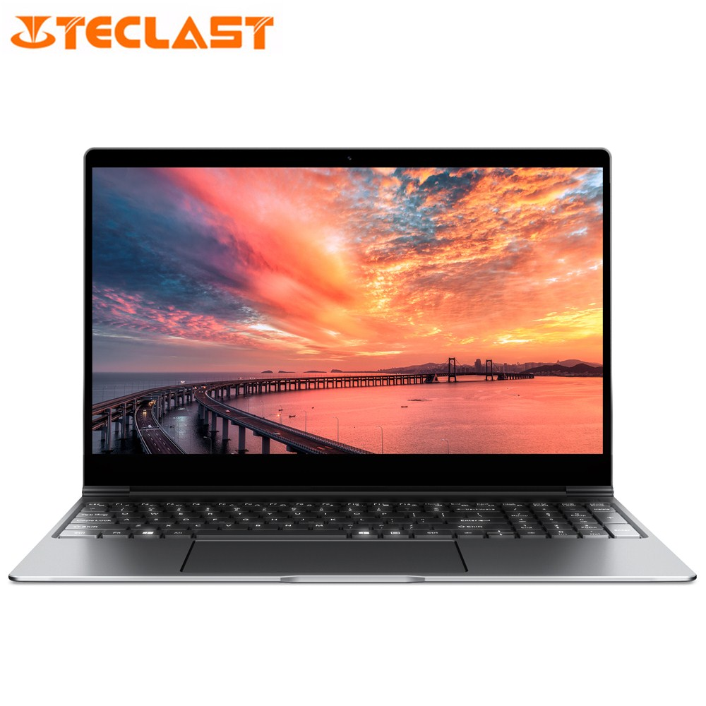 Teclast F15 Notebook 15.6'' Windows 10 Intel N4100 Quad Core 1.1GHz 8GB RAM 256GB SSD 1.0MP Front Camera HDMI 5500mAh Laptops(China)