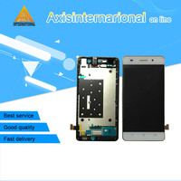 Axisinternational LCD Screen Display Touch Panel Digitizer With Frame For Huawei Honor 4C White Black Free